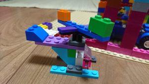 レゴで作ったヘリコプター