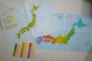 付録 日本地図