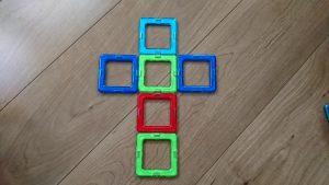 マグフォーマー 展開図 立方体