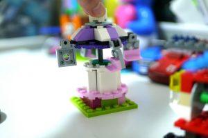 レゴ 歯車セットで作った遊具